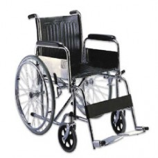 Wheel Chair Folding (Chrome)