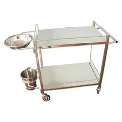 Dressing Trolley 18''x30'' (S.S.)