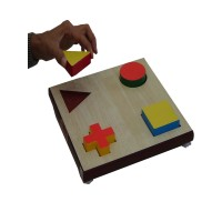 Geometric Shape Form Board Set