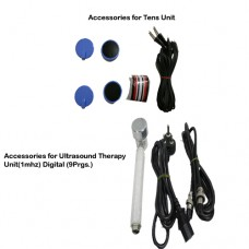 acco combo Tens (2 channel,Portable)+Ultrasound Therapy Unit(1 mhz) Digital (9 Prgs.)