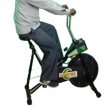 Power Gym Static Cycle with Analog Meter