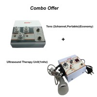 acco combo Tens (2 channel,Portable)+Ultrasound Therapy Unit(1 mhz)