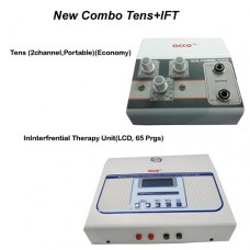acco combo Tens (2 channel,Portable)+  acco Interferential Therapy Unit(LCD, 70 Prgs)