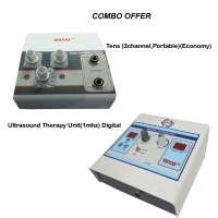 acco combo Tens (2 channel,Portable)+Ultrasound Therapy Unit(1 mhz) Digital