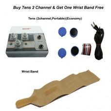 acco combo Tens (2 channel,Portable)+acco Wrist Band