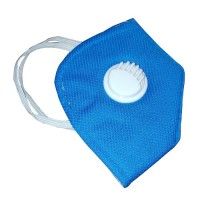 Blue Washable Face Mask with filter - (Pack of 10 pcs)