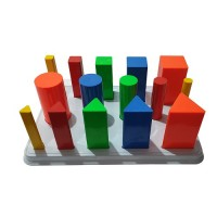 acco Multi Shaped Peg Board