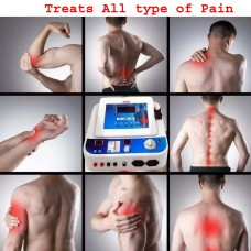 COMBO(IFT+MS+TENS+US) with Deep Heat Therapy Unit- 5 in 1 Combo Machine