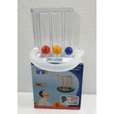 Infi Respirometer 3 Ball Lung Exercise | Spirometer for Breathing exercise