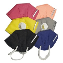 CARE-X KN95 Face Mask with Filter & Nosepin - ( Pack of 5 Pcs)