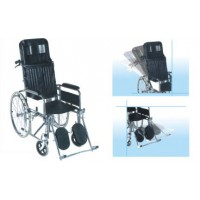 Deluxe Wheelchair Folding with Recline Back rest