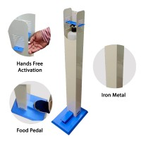 Heavy Duty  Metal Hand Sanitizer Stand - 1 Pcs