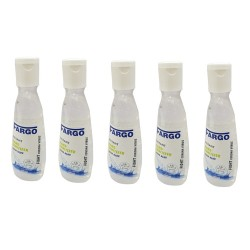 FARGO Instant Hand Sanitizer 100 ml - Pack of 5 (500Ml)