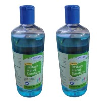 PAVANI 95% Alcohol Based Anti Bacterial Instant Hand Sanitizer- 500 ML (Pack of 2)