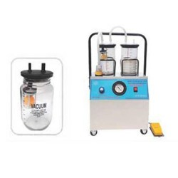 Suction Machine (Motor type 1/4hp Ordinary Motor, with foot switch & Polycarbonate Jar)