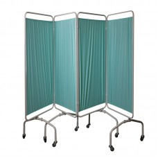 Hospital Bed Side Screen with curtain