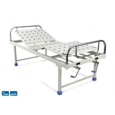 Hospital Semi fowler bed DLX (SS Panel)