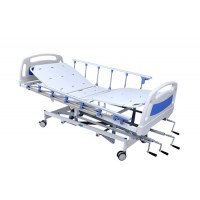 Hospital Semi Fowler Bed Manual (ABS Panels & Collapsible side Railing)