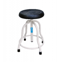 Patient Revolving Stool with Cushioned Top