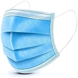 Disposable 3 Ply Face Mask with Earloop (Pack of 500)