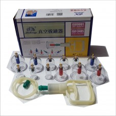 Manual Cupping Therapy Set (12pcs)