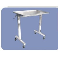 Mayos SS Instrument Trolley with S.S.Tray (Double Stand)