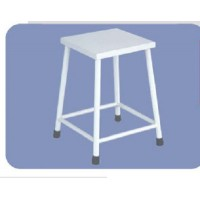 Rectangular Visitor Stool with SS Top