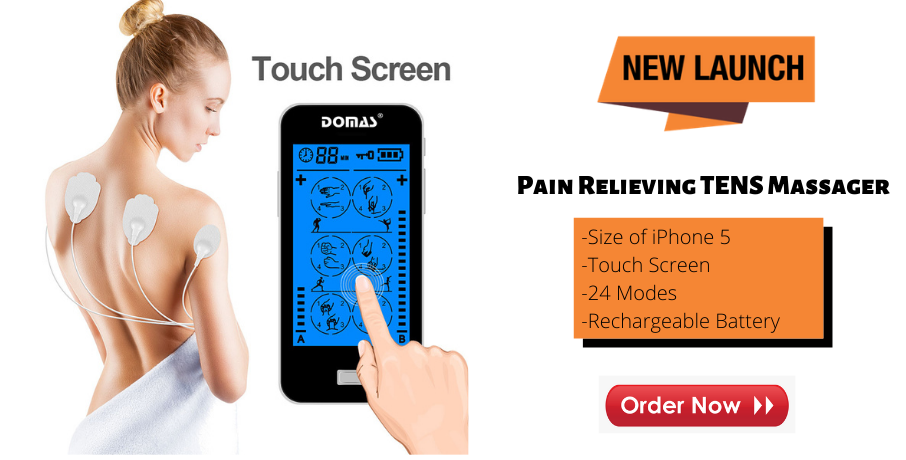 Tens Unit Touch Screen