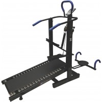 Manual Treadmil with (Stepper, Twister & Dip Stand)