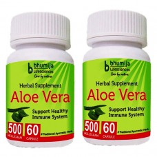 Aloevera Capsules 60's (Pack of Two)