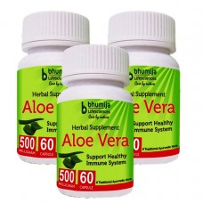 Aloevera Capsules 60's (Pack of Three)