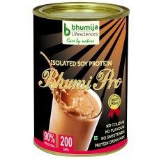 Soy Protein Isolated 90% (Bhumi Pro) 200g.