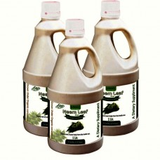Neem Juice (Sugar Free) 1 Ltr. (Pack of Three)
