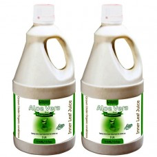Aloevera Fiber Rich Juice (Sugar Free) 1 Ltr. (Pack of Two)