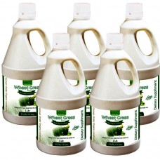 Wheat Grass Juice (with Aloevera & Amla) Sugar Free 1 Ltr. (Pack of Five)