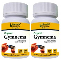 Gymnema Sylvestre Capsules 60's  (Pack of Two)