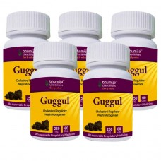 Guggul Capsules 60's (Pack of Five)