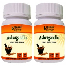 Ashvagandha Capsules 60's - Immunity Booster (Pack of Two)