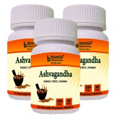 Ashvagandha Capsules 60's - Immunity Booster (Pack of Three)