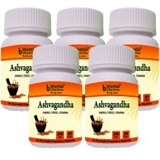 Ashvagandha Capsules 60's - Immunity Booster (Pack of Five)