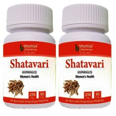 Shatavari Capsules 60's (Pack of Two)