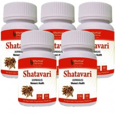 Shatavari Capsules 60's (Pack of Five)