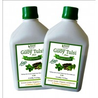 Giloy Tulsi Juice (Sugar Free) 1 Ltr.(Pack of Two)