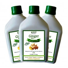 Ginger Juice (Sugar Free) 1 Ltr.(Pack of Three)