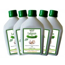 Lahsun Juice (Sugar Free) 1 Ltr.(Pack of Five)