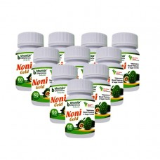 Noni Gold Cap 60's  (Pack of Ten)