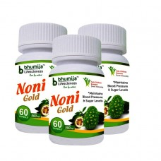 Noni Gold Cap 60's (Pack of Three)