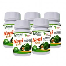 Noni Gold Cap 60's  (Pack of Five)