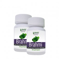 Brahmi Capsules 60's (Pack of Two)