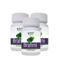Brahmi Capsules 60's (Pack of Three)